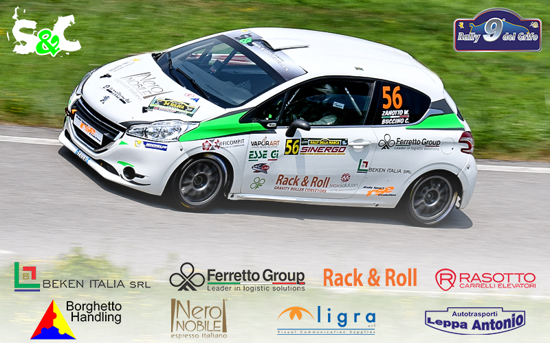 9° RALLY DEL GRIFO: AL VIA LA STAGIONE SPORTIVA DI WILLIAMS ZANOTTO