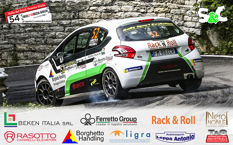WILLIAMS ZANOTTO E CHRISTIAN BUCCINO AL 54° RALLY DEL FRIULI VENEZIA GIULIA