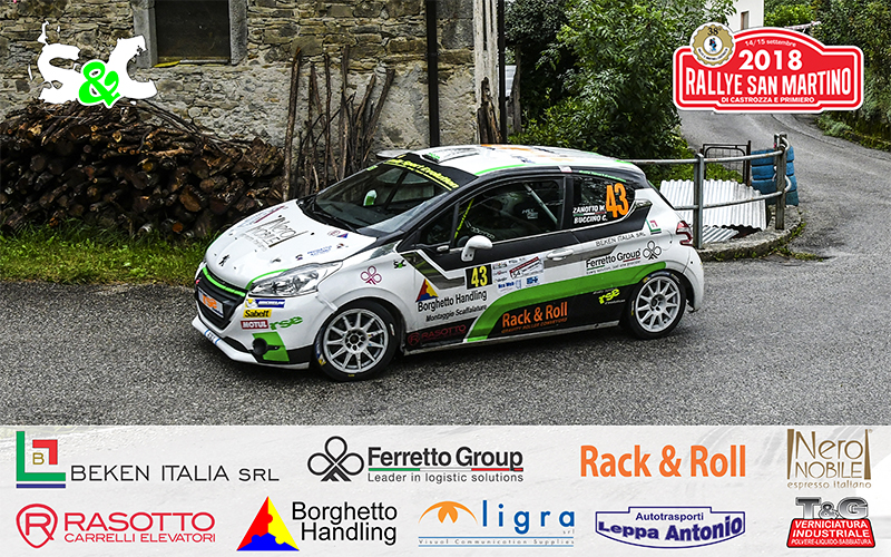 WILLIAMS ZANOTTO E CHRISTIAN BUCCINO AL 38° RALLY SAN MARTINO DI CASTROZZA