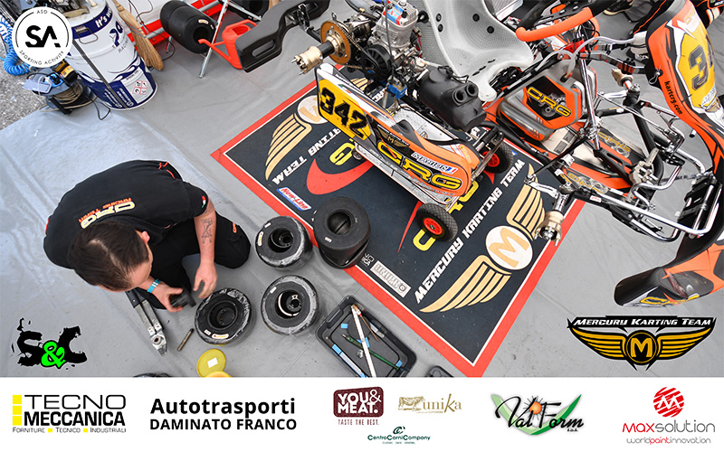 IL MERCURY KARTING TEAM AL 30° TROFEO MARGUTTI
